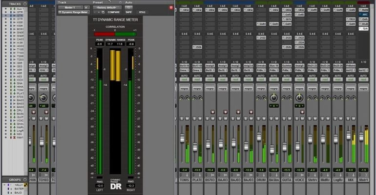 Freeware: TT Dynamic Range Meter