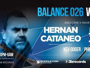 Win tickets to Hernan Cattaneo and Nick Warren