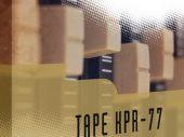 Free Samples: Drums – Tape KPR-77