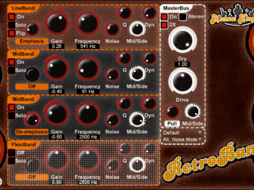 Freeware: Retroband Distortion