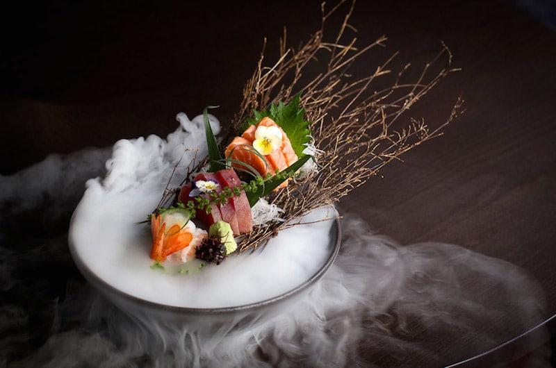 Sushi with smoke 2