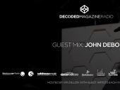 John Debo joins us as a guest DJ on Decoded Radio