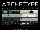 Sonic Faction has come out with a massive new offering for Live users – the Archetype Ableton Bundle