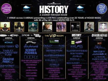 Win tickets to History of House Saturday March 7th