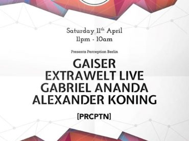 Egg LDN: Uncut: Perception Berlin Saturday April 11th