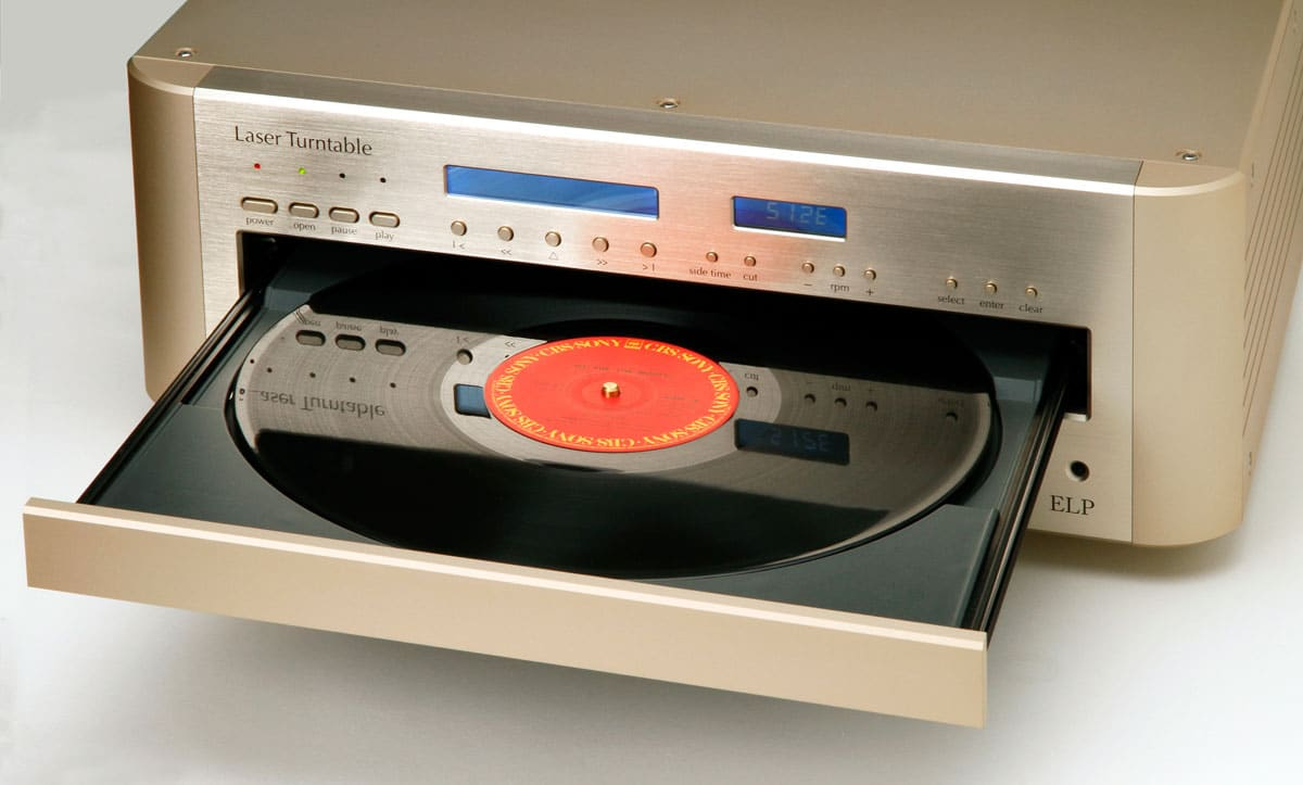 The Eip Laser Turntable Plays Records Without Touching