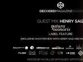Decoded Radio presents Henry Saiz and Natura Sonoris label showcase
