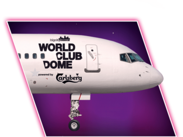Ever wanted to go clubbing on the worlds first plane party?