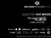 Decoded Radio presents Groovant Music showcase with Ant Brooks