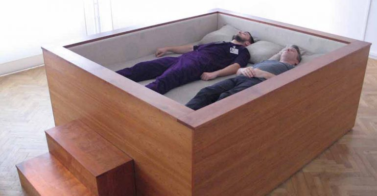 Experience Music Through Your Whole Body With 'Sonic Bed'