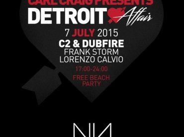 Carl Craig presents Detroit Love Affair at No Name, Ibiza