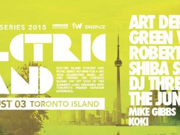 Heading to the Electric Island 3.0 festival this weekend?