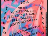 Infinity Ink, Kele Okereke, Leftwing & Cody at Ministry of Sound Saturday 8th August