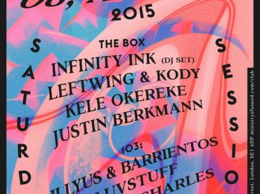 Infinity Ink headline Saturday Sessions at Ministry of Sound