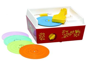 Remember the Fisher Price record player? Now you can print your own music for them
