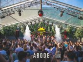 I want the vibe at Abode to be like an 90's warehouse rave, where everybody is smiling, cuddling and making memories for a life time.