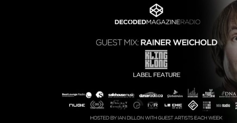 Decoded Radio presents 10 years of Kling Klong Records with Rainer Weichold