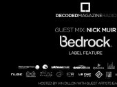 Decoded Radio presents Bedrock Records label feature with Nick Muir