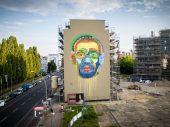 Street artists celebrate human diversity in Berlin