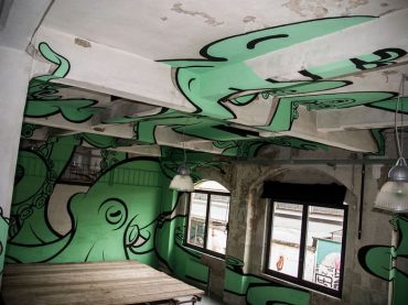 Anamorphic 3D Graffiti By Truly Design Transforms Abandoned Places And Interiors