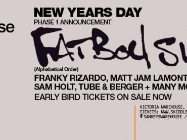 Fatboy Slim to headline Sankeys Warehouse Event on NYD 2016