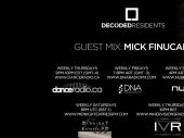 Decoded Residents Radio presents Mick Finucan