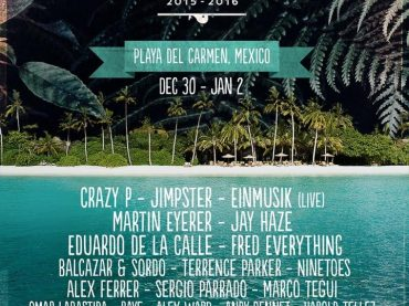 Coincidance Festival is back this NYE with Crazy P (UK) Einmusik (GE) Jay Haze (UK) Fred Everything (CA) Balcazar & Sordo (MX) Jimpster (UK) Martin Eyerer (GE) Eduardo de la Calle (ES) Ninetoes (GE) Terrence Parker (US) and more