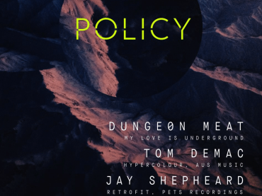 Policy reveal full NYE line up