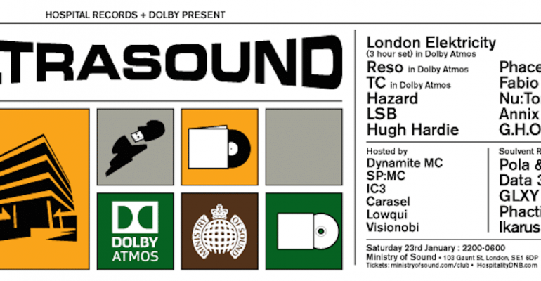 Win tickets to Hospital Records at MoS to see the launch of the new Dolby Atmos sound system