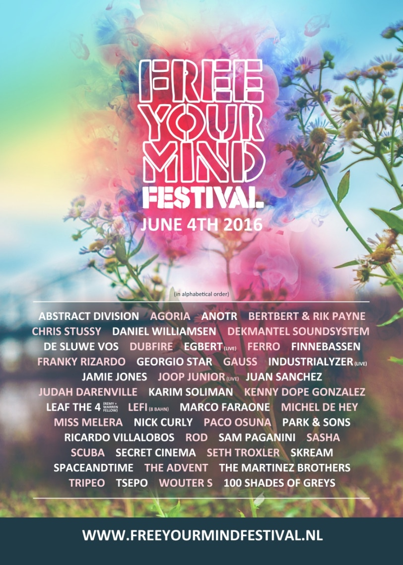 Free Your Mind line up