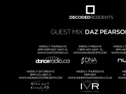 Decoded Residents Radio presents Daz Pearson