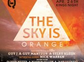 Guy J, Nick Warren and more headline The Sky is Orange at Q-Factory Amsterdam