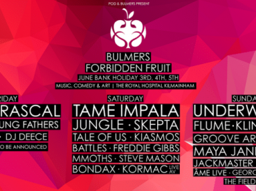 Dublin gets spoiled by Forbidden Fruit Festival 2016