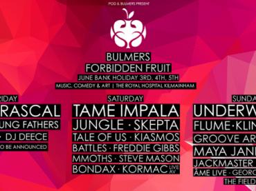 Dublin gets spoiled by Forbidden Fruit Festival 2016