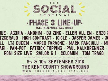The Social Festival release the third phase of their impressive lineup