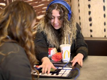Do you want fries with that? MacDonalds in Holland introduces high tech placemats called McTrax to make beats