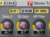 Check out the Voxengo Stereo Touch, an incredibly powerful tool and FREE