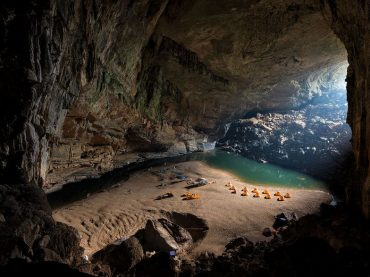Pictures from inside the Worlds largest cave look like a scene from One Million Years BC