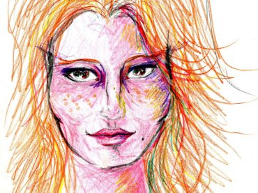 Artist used LSD and drew herself for 9 hours….. We don't recommend this at home