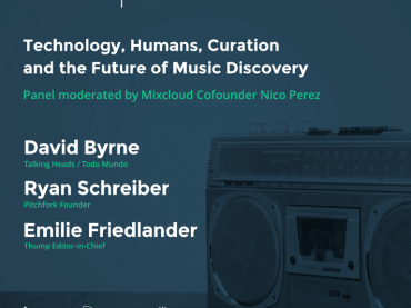 Mixcloud to discuss the 'Future of Music Curation' with David Byrne at NYC event