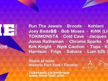 Run the Jewels, Bob Moses, Kink and more headline Time Festival, Toronto