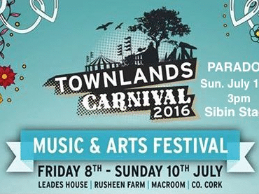 Fish go Deep, Sunday Times and Get Down Edit headline Townlands Carnival in Ireland