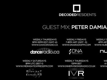 Decoded Residents Radio presents Peter Damian