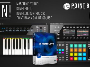 WIN! Maschine Studio, Komplete 10, Komplete Kontrol S25 & Point Blank Course Worth Over £2.5k
