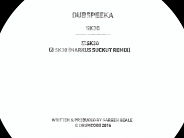 Drumcode Limited grant us exclusive access to dubspeeka's new track SK30