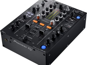 Pioneer DJ release the new two channel DJM450 mixer featuring  64-bit digital signal processing technology