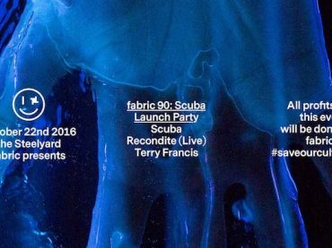 Scuba, Recondite and Terry Francis headline Fabric 90 launch party at The Steelyard
