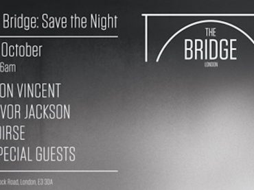 Levon Vincent and Trevor Jackson headline new London nightspot, The Bridge who lend support to fabric and Studio 338 with a charity night