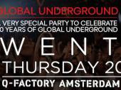 James Lavelle, Dave Seaman, Darren Emerson and more headline Global Underground's TWENTY ADE party