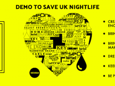 Peaceful protest to save UK nightlife is going ahead 8th Oct in London